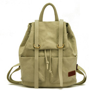 High quality women softback canvas backpack bags for girls normal camping and hiking shoulder bag