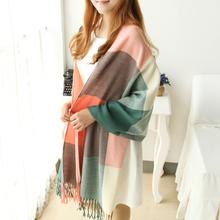 popular plaid shawl