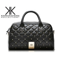 new 2013 supernova sale fashion messenger bag Sewing plaid rivet women's shoulder bag handbag bolsas leather handbags