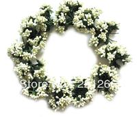 Rural wind yellow flower wreath tire bead ornamental design of simulation diy pendant fake flower decoration flower