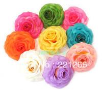 Roses silk flowers simulation flowers diy fake headdress hairpin corsage dress hats handbags decorative flowers