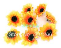 Silk flowers artificial flowers sunflower sunflower simulation work 6 cm decorative flowers scenery props