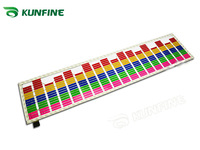 Free Shipping ! 70*16CM Car Music Rhythm Lamp red white yellow blue,green and colorful can be choose