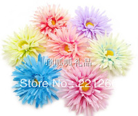 Simulation of African chrysanthemum silk flowers artificial flowers summer beach hat clothes decorated headdress flower flower