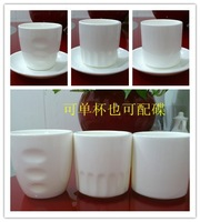 Ceramic cup white istikan glass sushi cup japanese style cup
