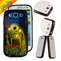 Shockproof Original Case Cover For Samsung Galaxy S3 I9300 10pcs/lot  Wholesale Free shipping Monsters University LC1404