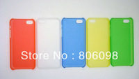 Supper thin hard crystal PC case for iphone5C IPHONE 5C, 2013 New Super thin protective mobile phone case for iPhone5C