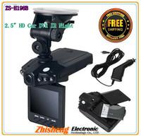 2.5  HD Car DVR IR Night Version 270 LCD Road Dash Video Camera Audio Recorder!  Free shipping