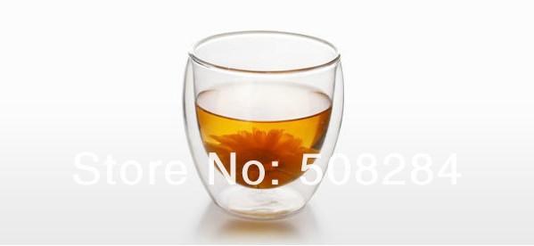 Free Shipping 6Pcs/lot Bodum 80ml Pavina Double Wall shot Glass Tumbler Glass Coffee Cup,Double Wall Espresso Glass,Novelty(China (Mainland))