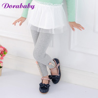 Dorababy children's clothing female child 2013 autumn legging pearl casual pants sports pants