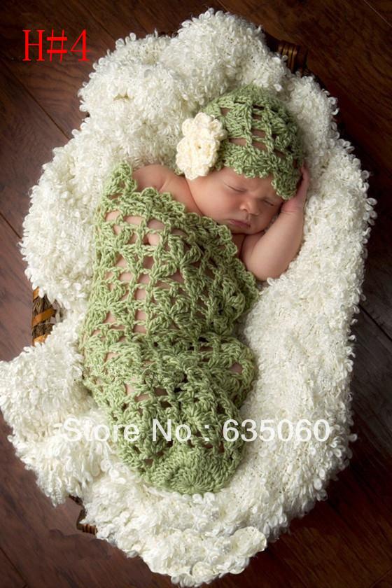 Free shipping baby sleeping bag handmade crochet ...