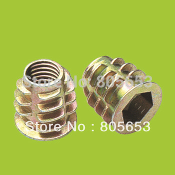 hot selling M8*15 zinc plated zinc alloy nut in furniture(NZ2312)