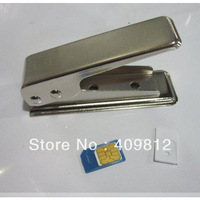 Micro Sim Cutter + 2x MicroSim Card Adapter for Iphone 4/4s ipad