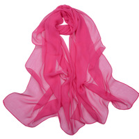 4 1 spring and summer long design chiffon georgette silk scarf color block decoration gradient color spring and autumn cape