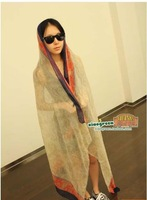2013 bohemia national trend scarf summer thin sunscreen sun-shading cape air conditioning cape
