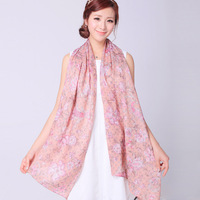 Rglt 2013 new arrival double faced print women's elegant scarf air conditioning cape