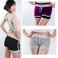 Women yoga shorts summer fashion 2013 female loose yoga trousers for lady dance wear short pants lady yoga breeches 155