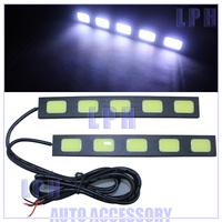 Ultra-thin 8W COB Chip New update  LED Daytime Running Light 100% Waterproof LED DRL LP13017