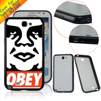 Patterned Case Cover For Samsung Galaxy Note 2 N7100 10pcs/lot  Wholesale Free shipping OBEY ART LC1105