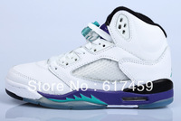 Top Quality Grape 5  Basketball Shoes Free Shipping Via Epacket