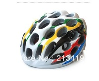 Free Shipping Road Bike Cycling Safety Honeycomb Shape Bicycle Adult Helmet 41 Holes Colorful