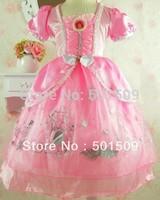 Free shipping ariel princess costume ballet princess dress fairy tale dress party/festival halloween