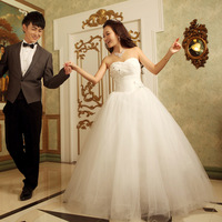 Wedding dress formal dress 2012 tube top new arrival princess wedding qi ff00665