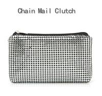Fashion fashion metal quality day clutch wallet mobile phone bag cosmetic bag female bags