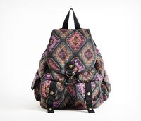Cattle fashion vintage sweet fashion backpack canvas backpack women's handbag
