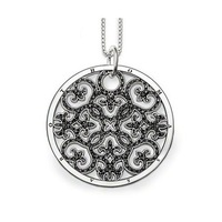 TN146(Min.Order $15)Hot Selling 2013 Thomas Style Gifts Necklaces & Pendants Charm Necklace Arabesque Disc Necklace Link Chain