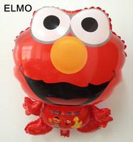 Lower Price! Elmo Cartoon Mylar Balloons Toys Party Children Helium Balloons Wholesale
