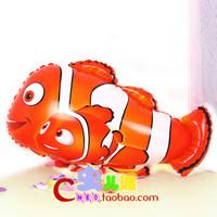 Amazing Fish Mylar Balloons Wholesale Foil Balloons 50pcs Free Shipping
