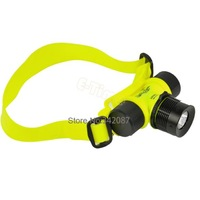 8pcs/Lot New Hot 300 Lumen CREE Q5 LED Waterproof 30m  Diving Headlamp Swimming Headlight Flashlight Torch WholesaleTK0240
