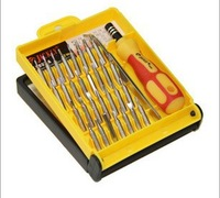 Original JACKY 32 in one with color box plastic handle screwdriver set for tear open notebook and  phone