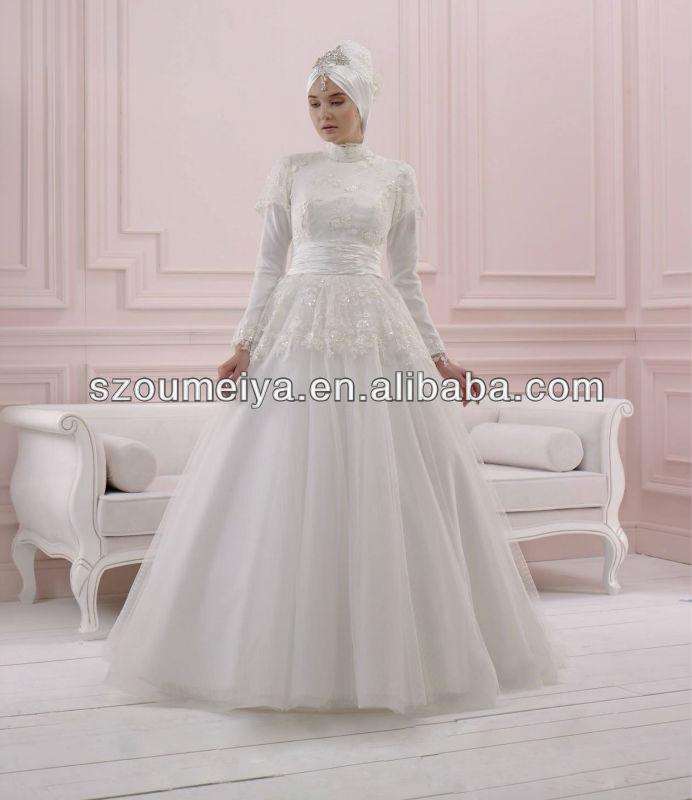 Designer Wedding Dresses With Hijab 6