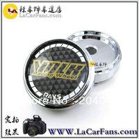 free shipping 66mm  Chrome Wheel Center Caps Hub Caps wheel cover wheel hub cap fit for 55.5mm flat Stickers use  volk rays