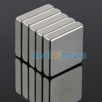 10pcs/Lot  N35 Super Strong Block Cuboid Magnets 20mm x 20mm x 5mm Rare Earth Neodymium Wholesale Free Shipping