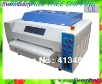 Free Shipping fedex/ups/dhl  Photo Card  340mm Coating machine UV coater