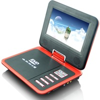 Cheap 7.8 inches color John (16:9) TFT LCD portable dvd   whit TV  PAL / SECAM / NTSC standard  FM TO China
