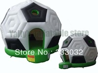 Football moonwalk house Bouncy castle with slide inflatable bouncer with UL certificated blower bouncy castle