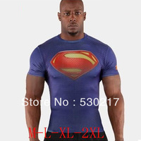 Wholesale  diamond suply 3d supermen short sleeve t shirt original style europe reserva 100% cotton HOT Sell Free shipping