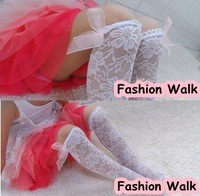 Free shipping!!10 pairs baby girls princess summer lace long stockings 2 colors lace bowknot knee-high stockings girls stockings