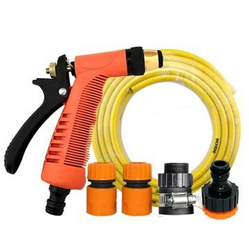 Portable high pressure backbone home car wash water gun pvc water pipe set(China (Mainland))