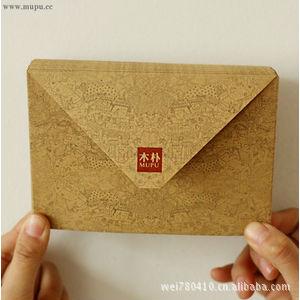 E102 10 Pcs MUPU Retro Vintge Kraft Paper Postcard Envelope Ideal World Handmade Refinement Decoration Package 108*154mm(China (Mainland))