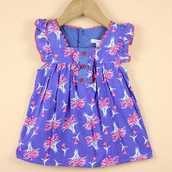 retail girls top blouses free shipping fashion flower printed girl blouses shirts as girls dress