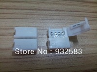 10pcs/lot,LED Strip light Connector,4pin,Easy to install, RGB Strip,best price,8mm/10mm/12mm optional