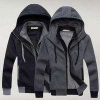 Hight quality Free Shipping 2013 fashion brand designer Korean casual outdoor sweatshirt Men's Hoodies Clothing 2 colors new