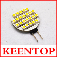4PCS/LOT AC/DC 12V G4-3528-24LED  24LEDs 1.5W SMD LED lamp beads  Free Shipping