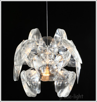 "D 60cm/23.6""Acrylic craft droplight Contemporary and contracted Apple droplight Chandelier(Small size)"