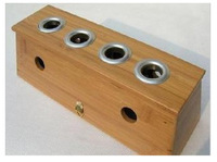 Free shipping Pamboo moxibustion box bamboo sunburn box rack moxa